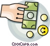 money Vector Clip Art graphic