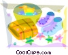 Baby Toys and Objects Vector Clipart picture