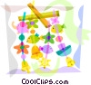 Baby Toys and Objects Vector Clip Art picture