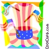 Independence Day Vector Clip Art graphic