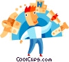 Vector Clip Art graphic  of a Educational Concepts