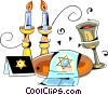 Judaism Vector Clipart graphic