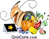cornucopia Vector Clip Art graphic