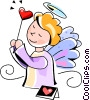 cupid Vector Clipart picture
