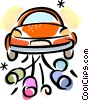 Just Married Vector Clip Art graphic