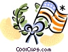 Vector Clipart image  of a Independence Day
