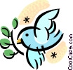 Vector Clip Art graphic  of a Miscellaneous Birds