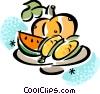 Vector Clip Art graphic  of a Corn