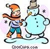 Snowmen Snowman Vector Clip Art picture
