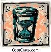 Hourglasses Vector Clip Art picture