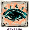 Eyes Vector Clip Art picture