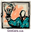 Idea Concepts Vector Clipart illustration