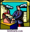 Businessmen Vector Clip Art picture