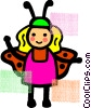 Vector Clipart graphic  of a Costumes