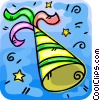 Vector Clipart graphic  of a party hat