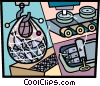 Commercial Fishing Vector Clipart picture