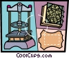 Vector Clipart picture  of a Books and Records