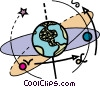 Vector Clipart picture  of a Planet Earth