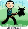 Investment and Stock Market Vector Clip Art picture