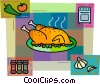 Vector Clip Art image  of a Poultry
