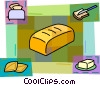 Vector Clipart picture  of a Bread