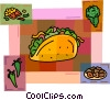 Vector Clipart graphic  of a Mexican