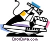 Vector Clip Art picture  of a Personal Watercraft
