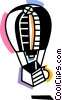 Vector Clipart image  of a Hot Air Balloons