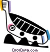 Vector Clip Art graphic  of a Gondolas