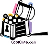 Vector Clipart image  of a Treasure Chests