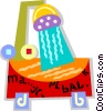 shower Vector Clip Art picture