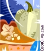 Vector Clipart graphic  of a piece of pie