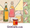 Salad Oil Vector Clipart picture