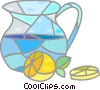 Vector Clip Art picture  of a Lemonade