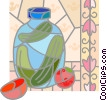Jar of pickles Vector Clipart illustration