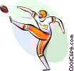Vector Clip Art graphic  of a Players