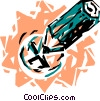 Vector Clipart graphic  of a Pencils