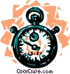 Stopwatches Vector Clip Art picture
