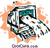 Information Highway Vector Clip Art graphic
