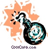 Bombs Vector Clip Art picture