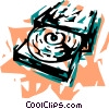 CD-ROM Drives Vector Clipart picture