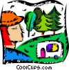Great Outdoors Vector Clip Art graphic