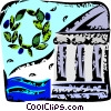 Parthenon Vector Clipart picture
