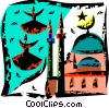 International Buildings Vector Clipart graphic