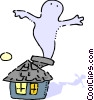 Ghosts Vector Clipart image