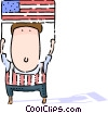 Independence Day Vector Clip Art picture