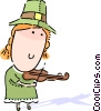 Vector Clipart image  of a Leprechauns