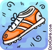 Vector Clipart illustration  of a Cleats