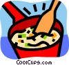 Soup Vector Clip Art picture