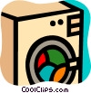 Clothes Dryers Vector Clip Art image